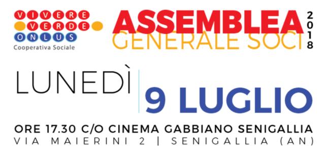 Assemblea Generale dei Soci 2018