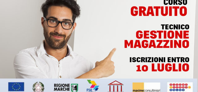 Corso <strong>Gratuito</strong> Tecnico Gestione Magazzino